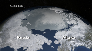 Link to Recent Story entitled: NASA On Air: 2015 Arctic Sea Ice Maximum Annual Extent Is Lowest On Record (3/18/2015)