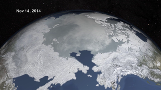 Link to Recent Story entitled: Arctic Sea Ice Sets New Record Winter Low