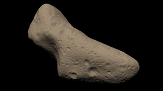 Link to Recent Story entitled: Portrait Of An Asteroid
