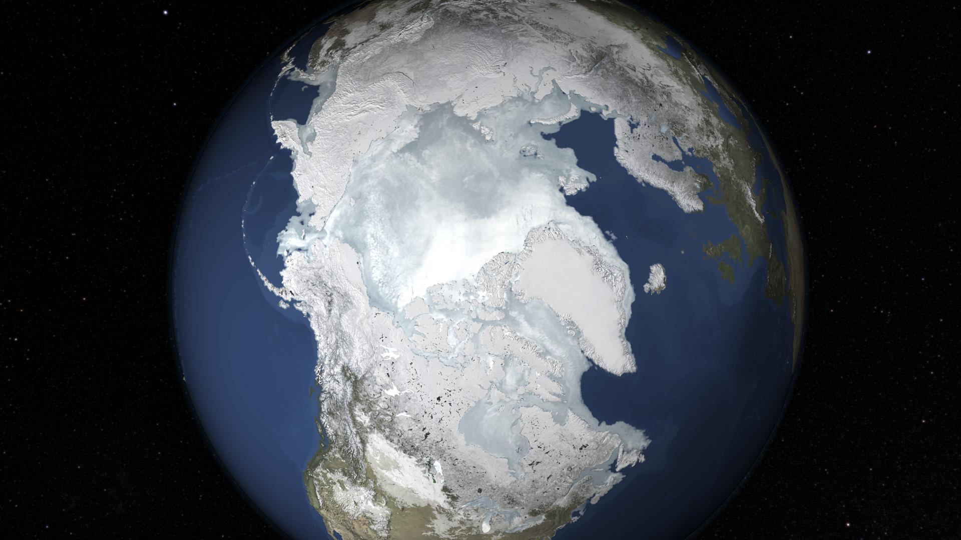 polar ice cap nasa - photo #5