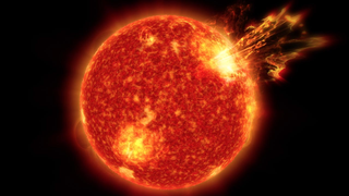 Link to Recent Story entitled: The Faint Young Star Paradox: Solar Storms May Have Been Key to Life on Earth