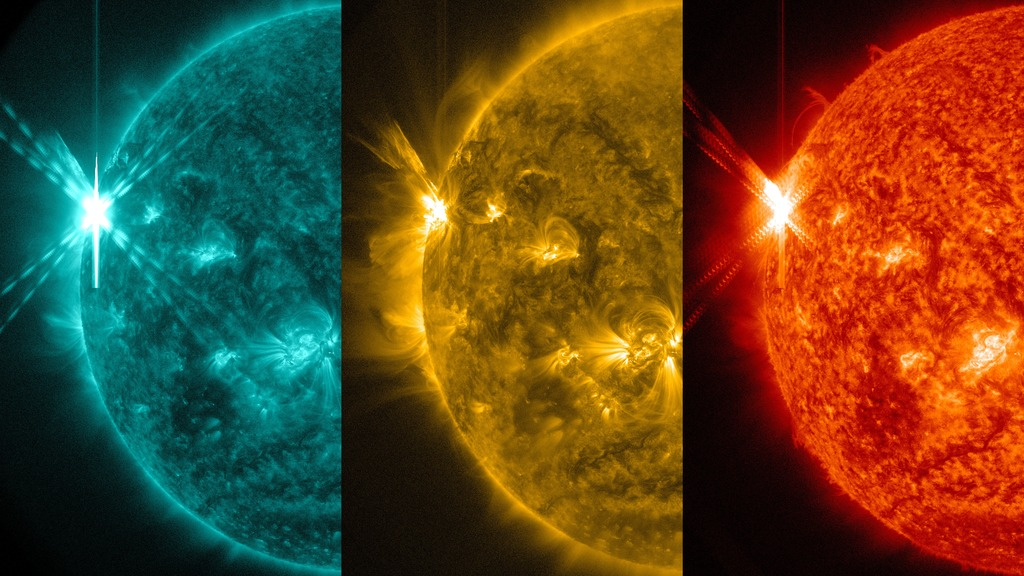 solar flare sdo nasa - photo #22
