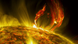 Link to Recent Story entitled: NASA On Air: NASA's SDO Catches Arching Solar Eruption (7/2/2015)