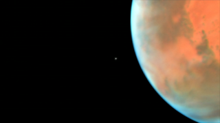 Link to Recent Story entitled: Phobos Photobombs Hubble's Picture of Mars