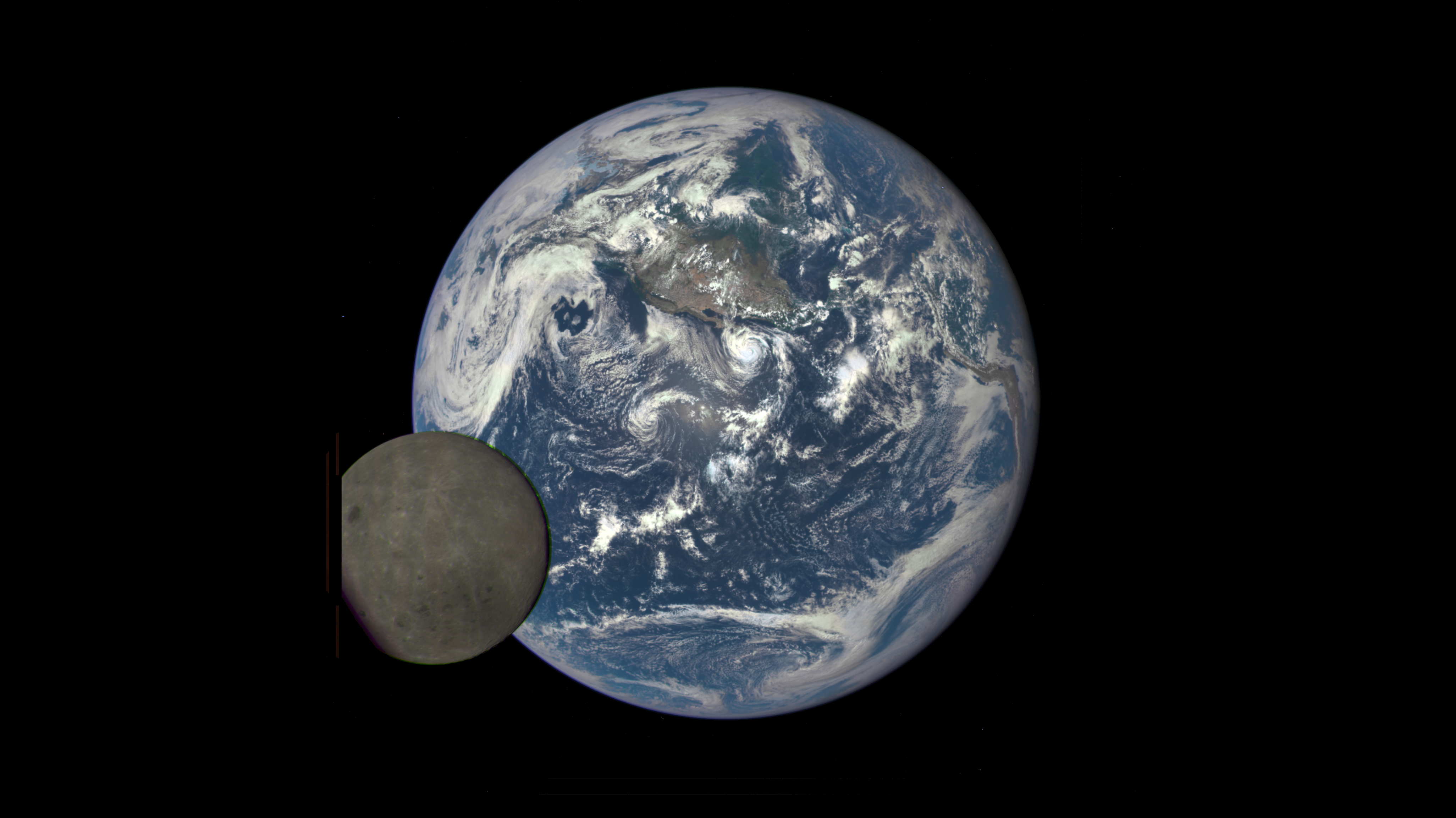 Nasa pictures of the dark side of moon