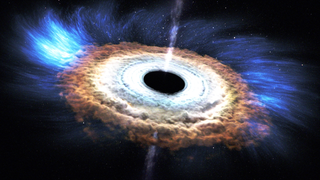 Link to Recent Story entitled: Massive Black Hole Shreds Passing Star