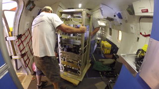 Link to Recent Story entitled: Instrument Upload to OLYMPEX DC-8