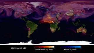 Link to Recent Story entitled: Carbon Dioxide Sources From a High-Resolution Climate Model