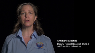 Link to Related Story entitled: Annmarie Eldering: Carbon and Climate Soundbite