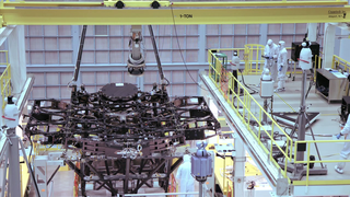 Link to Recent Story entitled: NASA's Webb Space Telescope Receives First Mirror Installation
