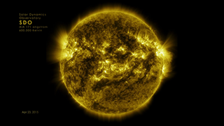 Link to Related Story entitled: NASA On Air: NASA's SDO Satellite Captures HD Time Lapse Of The Sun (2/12/2016)