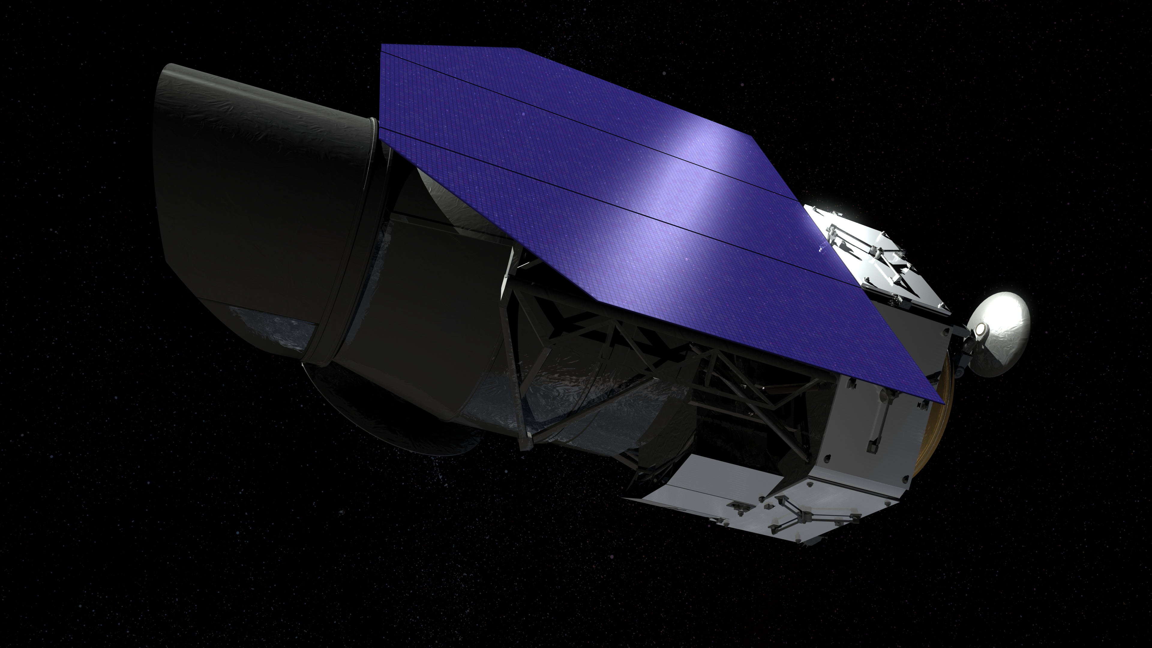 The WFIRST telescope will receive half of the funding requested 71