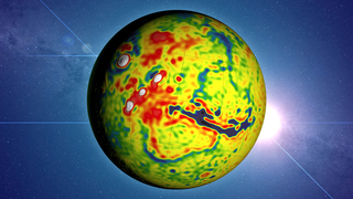 Link to Recent Story entitled: Mars Gravity Map
