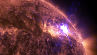 Link to Recent Story entitled: NASA's SDO Captures Stunning 4K View of April 17 Solar Flare