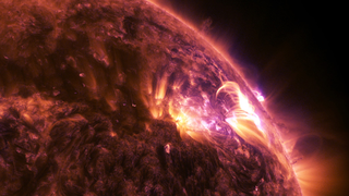 Link to Recent Story entitled: An Explosion On The Sun