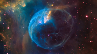 Link to Recent Story entitled: The Bubble Nebula