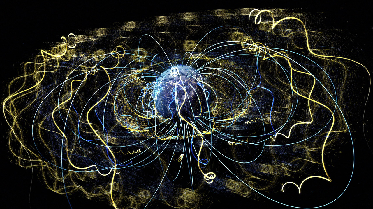 Nasa Viz Earth S Magnetism In Action