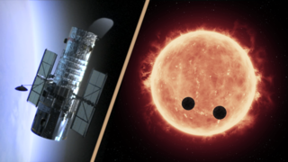 Link to Recent Story entitled: Hubble Makes First Measurements of Earth-Sized Exoplanet Atmospheres