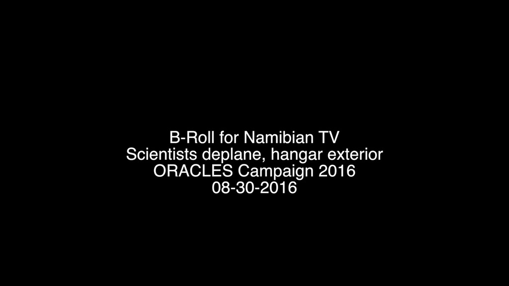 Gms Oracles B Roll
