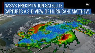 Link to Recent Story entitled: NASA Satellite Captures 3-D View Of Hurricane Matthew