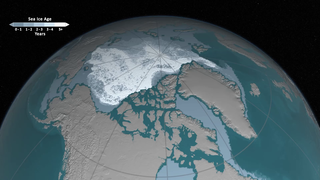 Link to Recent Story entitled: Arctic Sea Ice Age 2016 with VO from Walt Meier