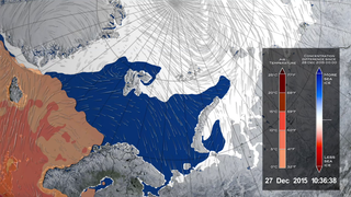 Link to Recent Story entitled: Warm Winter Cyclone Damaged Arctic Sea Ice Pack
