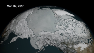 Link to Recent Story entitled: Shrinking Sea Ice