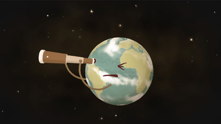 Link to Recent Story entitled: Join the Search for New Nearby Worlds