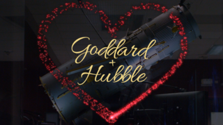 Link to Recent Story entitled: Goddard + Hubble, Valentines Since 1984