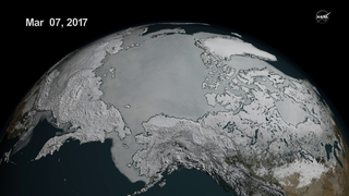 Link to Recent Story entitled: Arctic Sea Ice Reaches Another Record Low