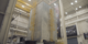 Engineers at Goddard Space Flight Center move the Webb Telescope out of the cleanroom and onto the vibration facility.  Sine vibration tests are then conducted on the telescope to demonstrate that the hardware is safe to launch.