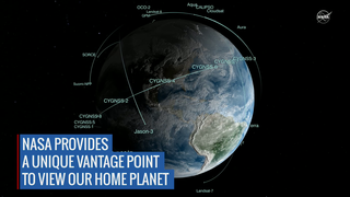 Link to Recent Story entitled: NASA's Vantage Point to View Earth