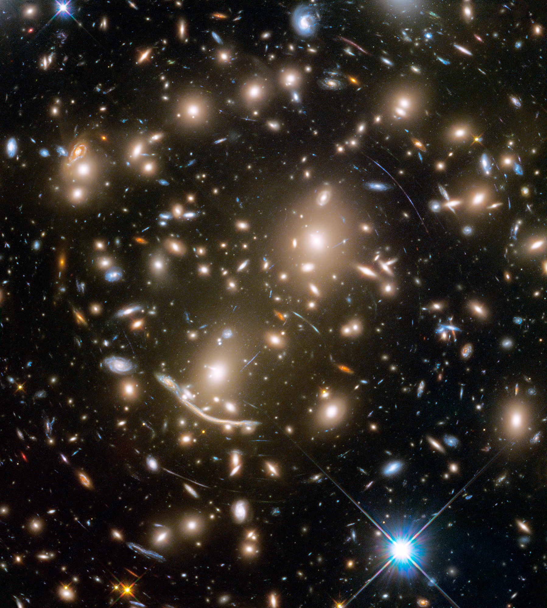 Hyperwall The Sombrero Galaxy From Hubble