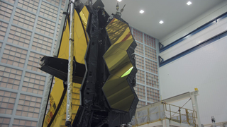 Link to Recent Story entitled: B-roll: Webb Telescope Element Packed and Transported to Joint Base Andrews for trip to NASA Johnson Space Center