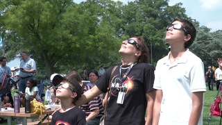 Link to Recent Story entitled: Eclipse Watching B-Roll At NASA Goddard
