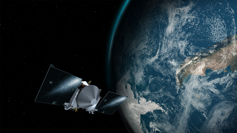 GMS First NASA Mission To Collect Asteroid Sample Will Slingshot - Live earth satellite