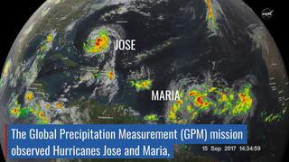Link to Related Story entitled: NASA Catches Hurricanes Jose and Maria