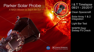 Link to Popular Story entitled: Parker Solar Probe: Testing and Integration