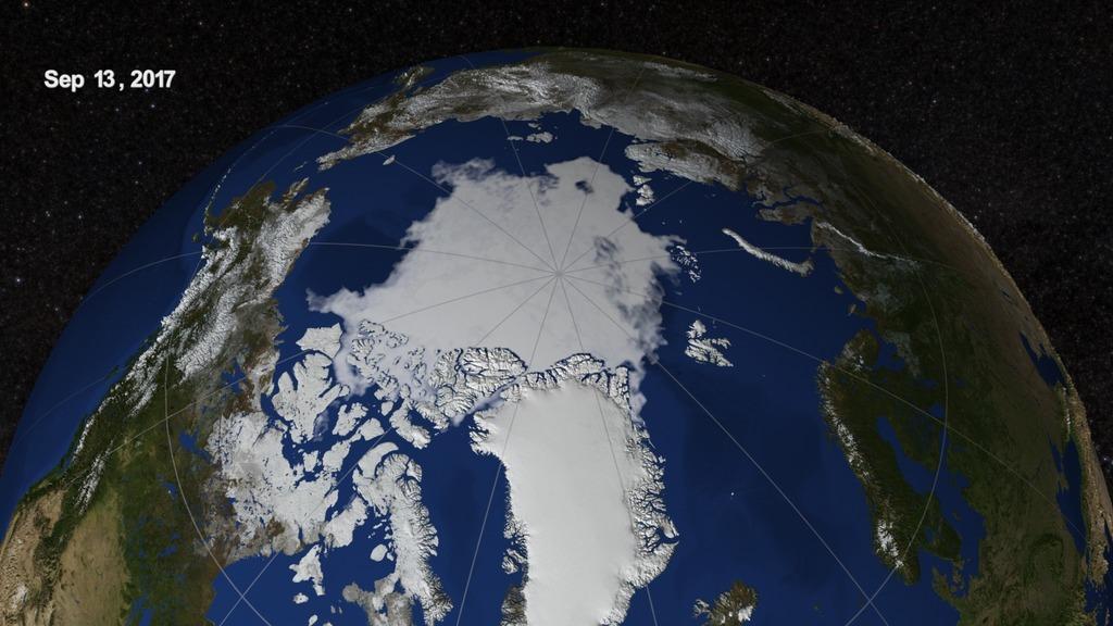 NASA Viz: Arctic Update