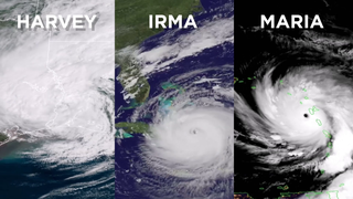 Link to Related Story entitled: Intense String of Hurricanes Seen From Space