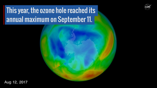 Link to Recent Story entitled: Warm Winter Air Makes for a Small Ozone Hole