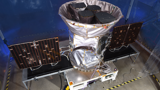Link to Recent Story entitled: TESS Spacecraft Beauty Shots