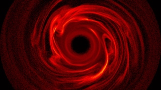 Link to Recent Story entitled: Debris Disks Generate Spirals, Rings and Arcs in Simulations