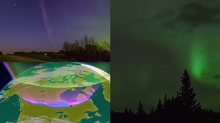 Link to Recent Story entitled: The Aurora Named STEVE