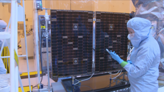 Link to Related Story entitled: TESS Solar Array Deploy