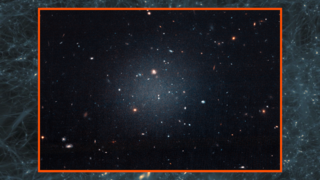 Link to Related Story entitled: Hubble Views a Galaxy Lacking Dark Matter