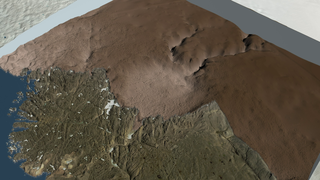 Link to Recent Story entitled: Massive Crater Discovered under Greenland Ice