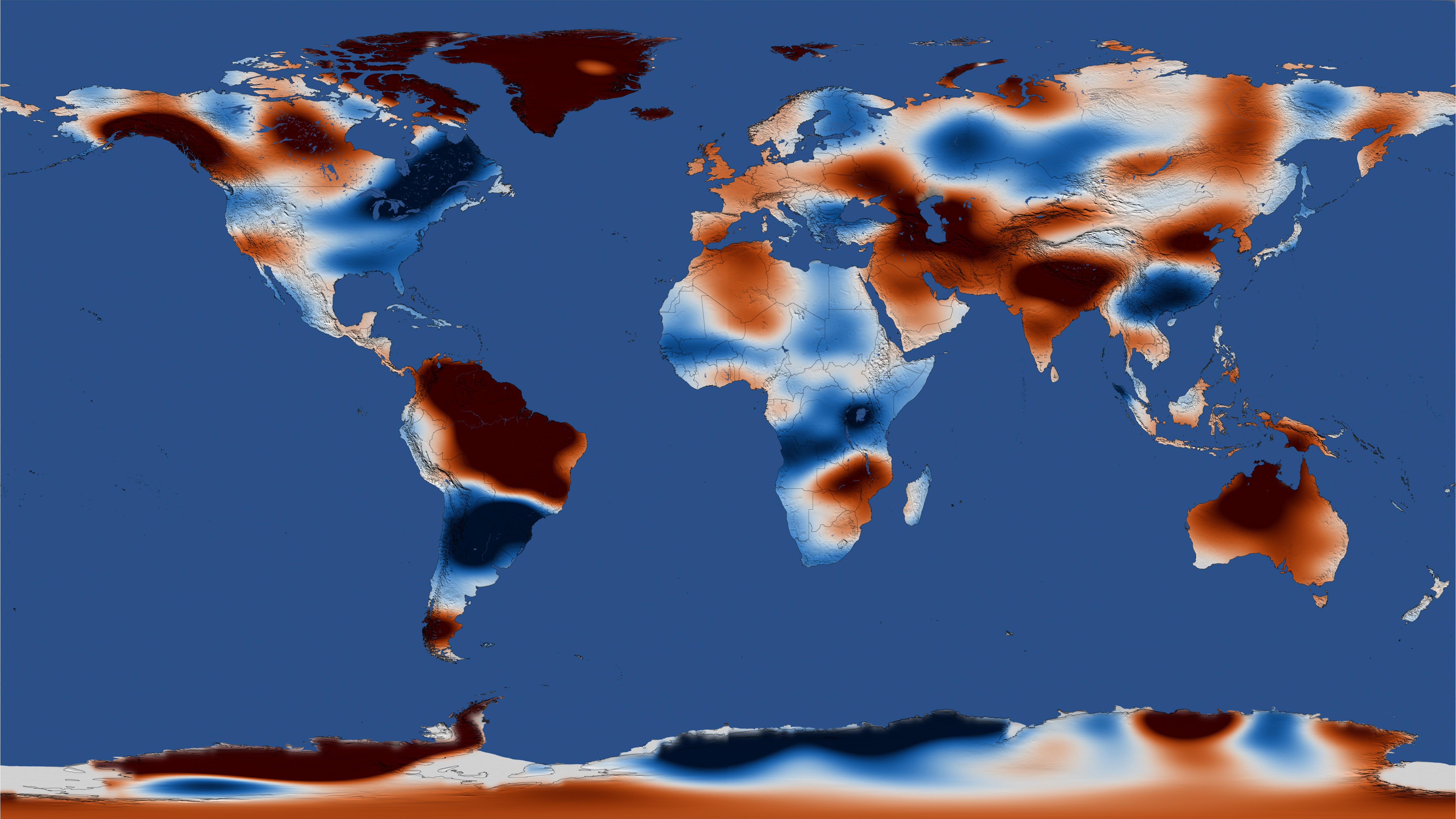 NASA Viz: A Map of Freshwater Download Earth Map on