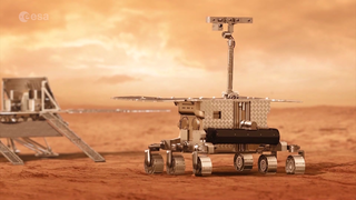 Link to Popular Story entitled: Searching for Signs of Life on Mars