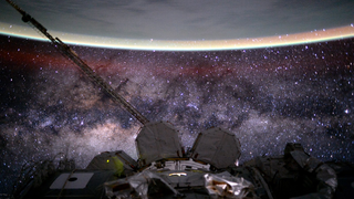 Link to Related Story entitled: Airglow Imagery